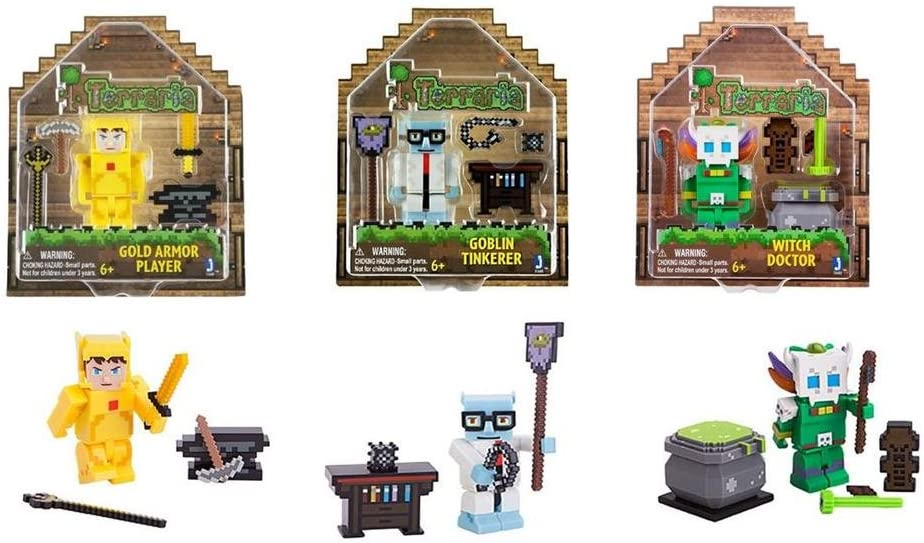 Toys And Games Action Figures Terraria /'Goblin Tinkerer/' With Accessories