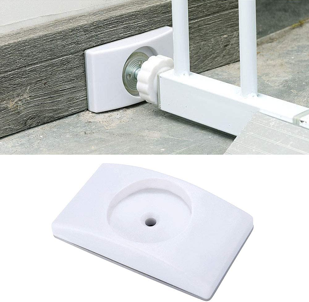 4 Pack Carkio Baby Gate Wall Protector Safety Wall Bumpers Guard for Pet /& Dog /& Child Pressure Mounted Stair Safety Gate