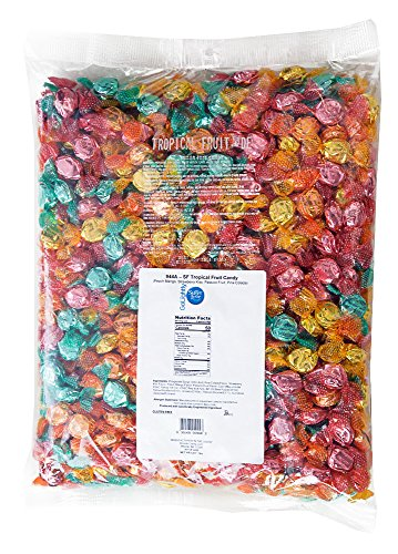 GoLightly Sugar Free Hard Candy Bag, Tropical Fruit, 5 lb.]()