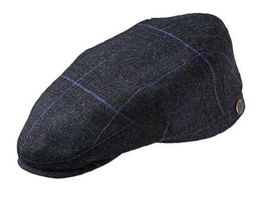 Olney Ludlow Tweed Flat Cap  Amazon.co.uk  Clothing bfde7f24797