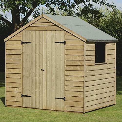a 7x5 ft pressure treated outdoor garden storage shed w double bbq shed a 7x5 ft pressure treated outdoor garden storage shed w double door ideal for ... & Bbq Shed - Hot Tub Structure With BarSky Lights Planter Bench Deck ...