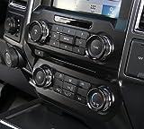 6pcs Aluminum Alloy Car Inner Air Conditioner