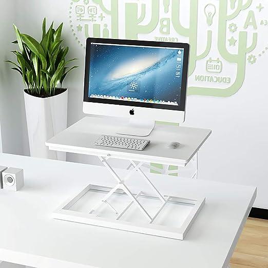 QJJML Escritorio ExtraíBle, Mesa Elevadora para Computadora De Pie ...