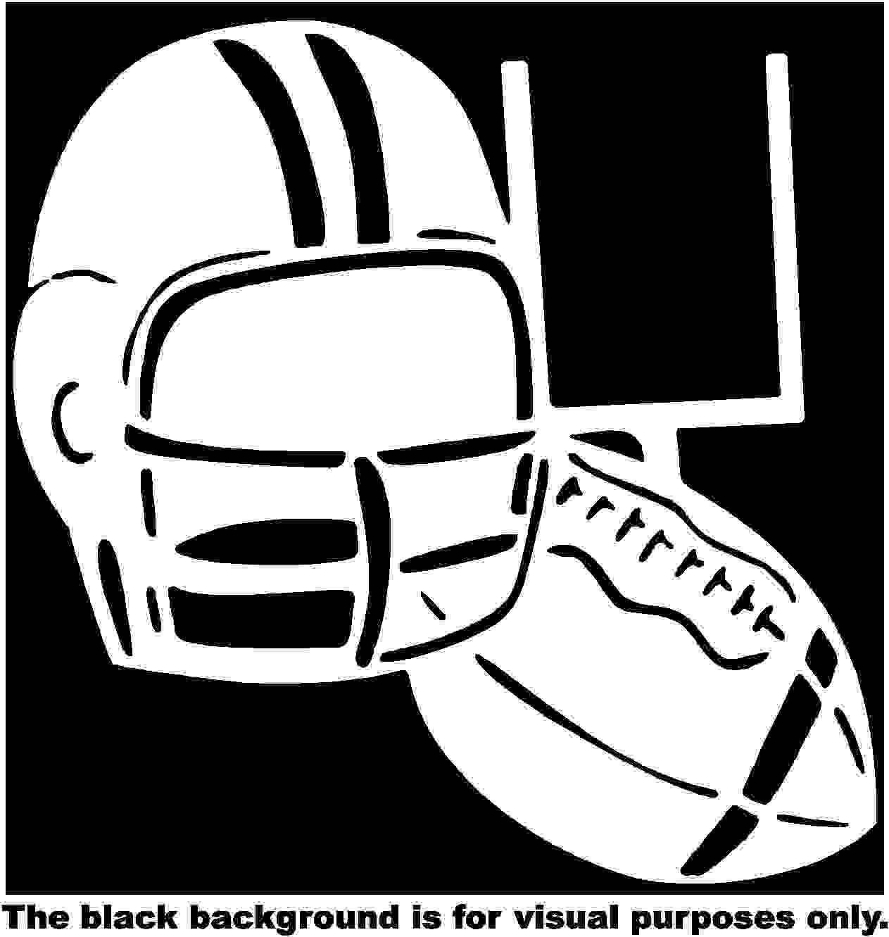 Sports Football Helmet Car Window Tumblers Wall Decal Sticker Vinyl Laptops Cellphones Phones Tablets Ipads Helmets Motorcycles Computer Towers V and T Gifts