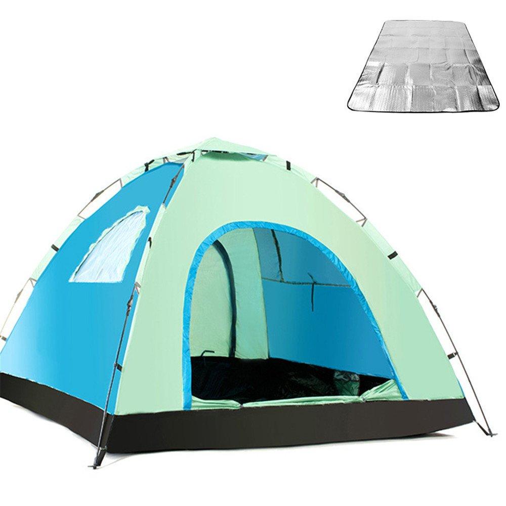 RFVBNM 3-4 personen zelt automatische outdoor erhöhen camping wild camping reise zelt 215  215  135 cm