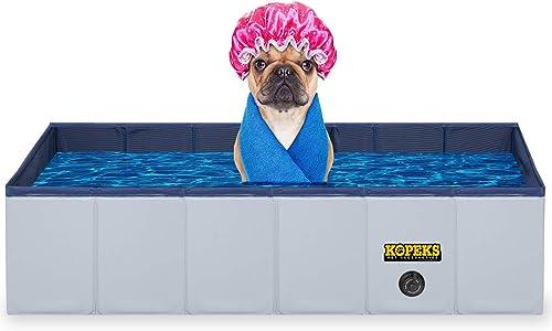 KOPEKS Outdoor Rectangular Swimming Pool Bathing Tub