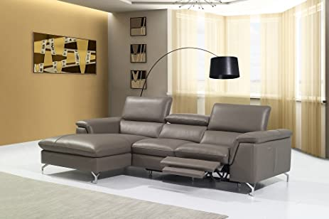 Angela Premium Leather Sectional : amazon leather sectional - Sectionals, Sofas & Couches