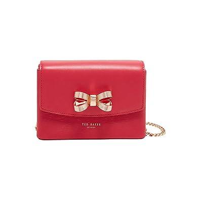 07351524f Ted Baker Leorr Bow Leather Mini Cross Body Bag
