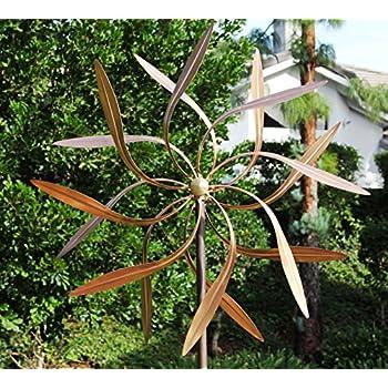 Amazon.com: Stanwood Wind Sculpture Kinetic Copper Wind