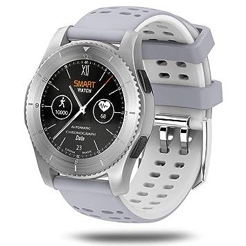 ZLOPV Pulsera Activa Smart Watch Men Phone Bluetooth 4.0 ...