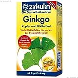 Zirkulin Ginkgo Zink und B-Vitamine Tabletten, 60 St