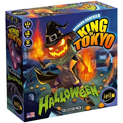 IELLO King of Tokyo Halloween Expansion Board Game: Toys & Games