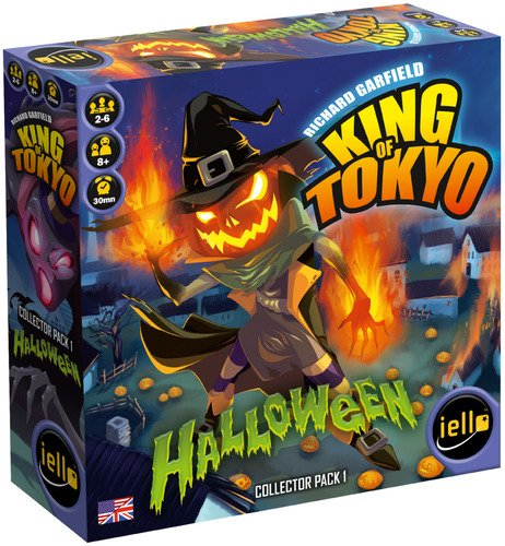 IELLO King of Tokyo Halloween Expansion Board Game -