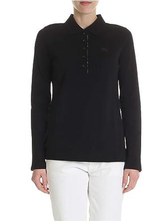 6835619ef5e BURBERRY Femme 8004798 Noir Coton Polo  Amazon.fr  Vêtements et ...