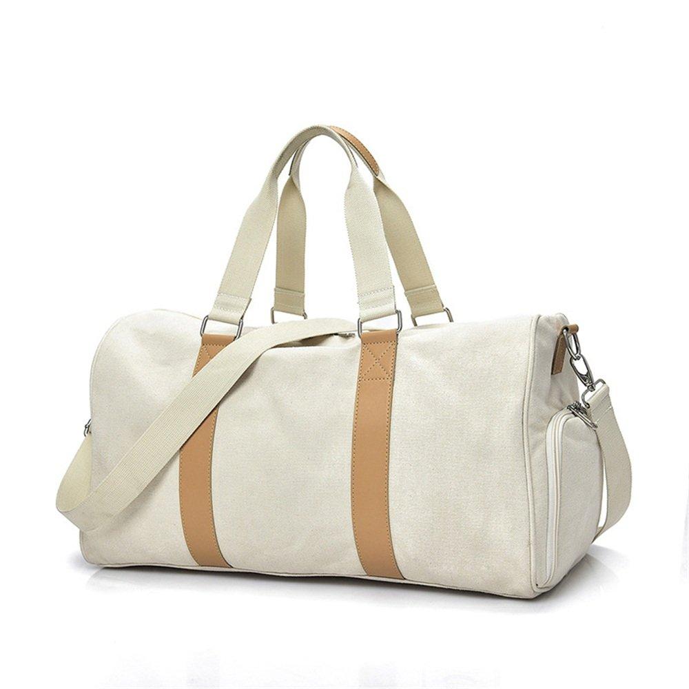 Ybriefbag Unisex Large Canvas Hand Luggage Canvas Leisure Travel Bag Bag Satchel Business Short Trip Vacation