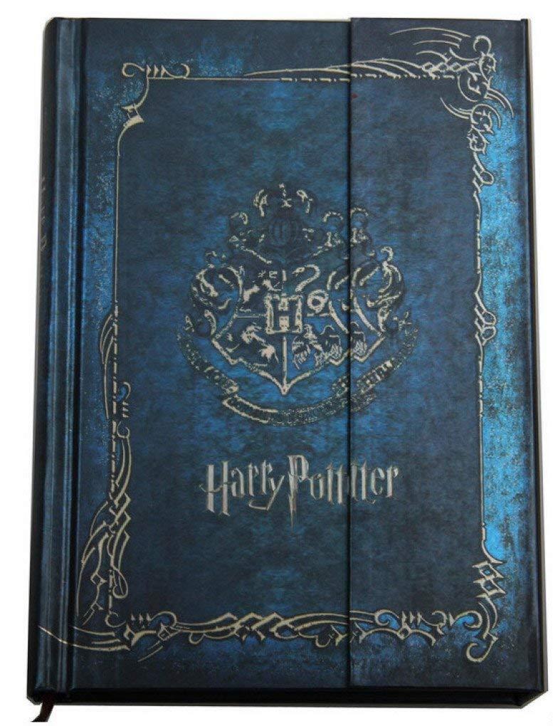 cuaderno de notas dise/ño vintage tapa dura 2018-2019-2020 agenda de libros Cuaderno de notas con calendario Harry Potter