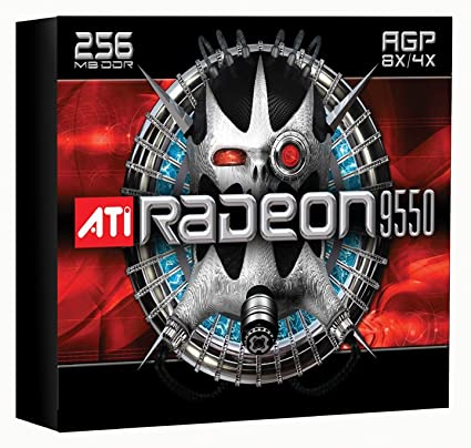 Amazon ATI 100 437105 Radeon 9550 256MB 128 Bit DDR AGP Video
