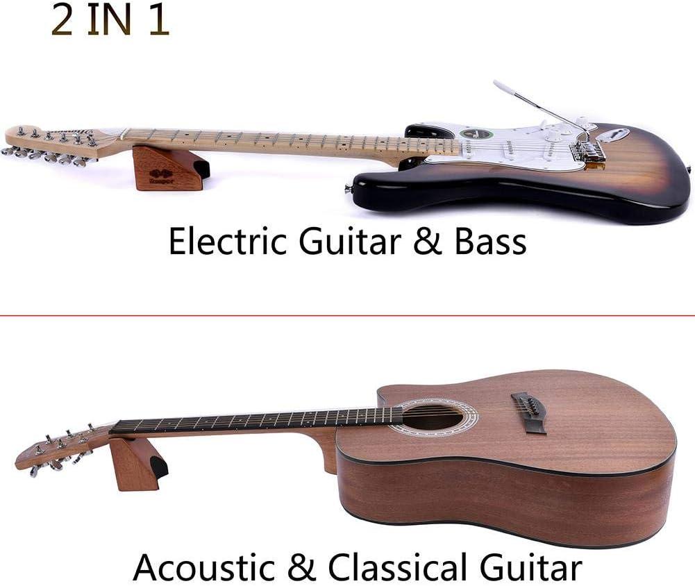 Bogget Guitarra de Madera Soporte para el Cuello Almohada para el ...