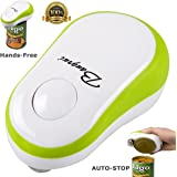 Bangnui Soft Edge Automatic Can Opener, One Button Start and Auto-Stop(Green)