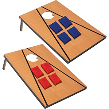 Amazon.com : 11 Piece Bean Bag Toss Game : Beanbag Toss : Sports ...
