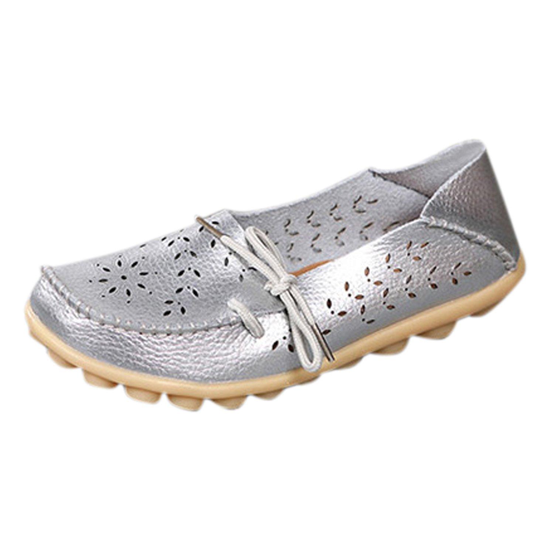 50e0c8507a444 Frestepvie Chaussure Bateau Femme Fille Flat Shoes Espadrilles Confortable  Mode Elégant Simple Bureau Casual Printemps  Amazon.fr  Chaussures et Sacs