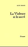 La Violence et le Sacré (essai français)