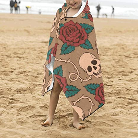 Festival de moda gótica Flores color de rosa Cráneo Suave ...
