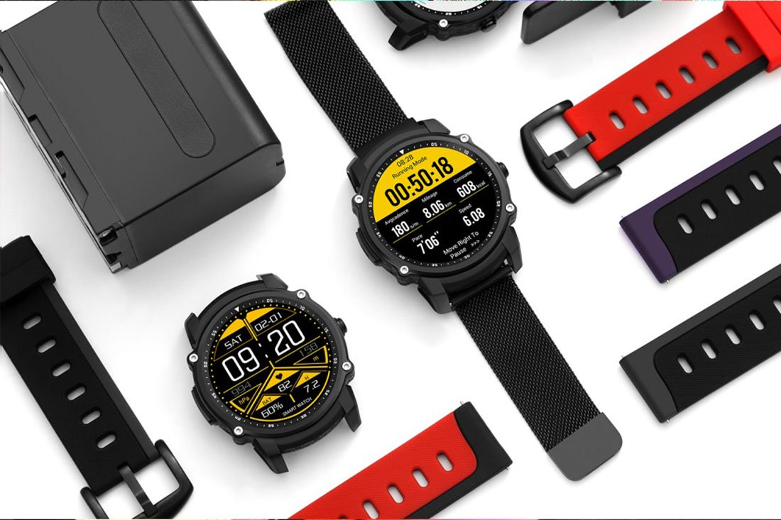 FS08 Reloj inteligente Bluetooth Impermeable IP68 Swim GPS Sports ...