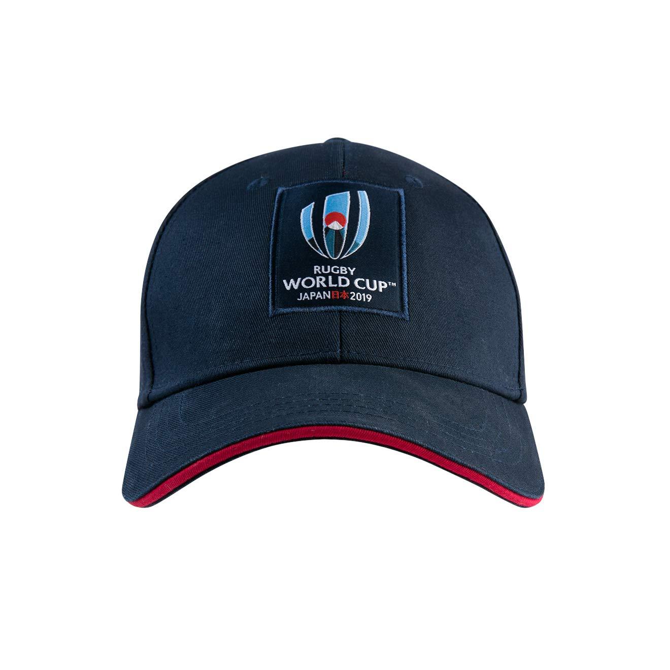 Bleu Marine Blazer Canterbury Officiel de la Coupe du Monde de Rugby 2019 Casquette Mixte Adulte Taille Unique FR Fabricant