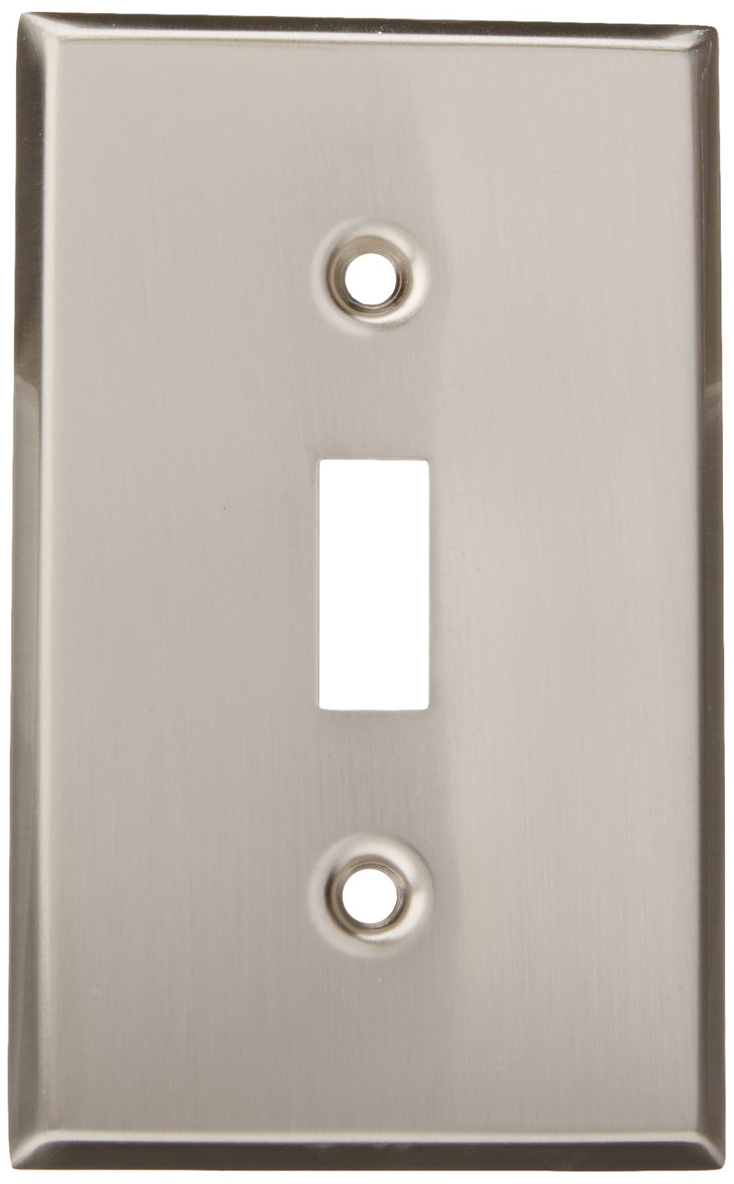 MINTCRAFT 881-07-SOU Switch Plate Single, Brush Nickel
