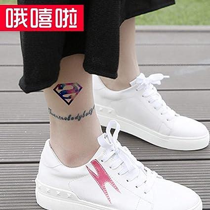 Etiqueta engomada del tatuaje a prueba de agua Corea del tobillo ...