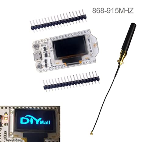 Amazon com: 0 96 OLED Display ESP32 ESP-32S WiFi Bluetooth