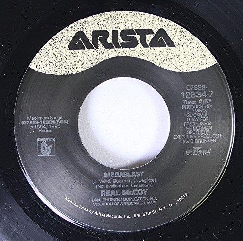 REAL MCCOY 45 RPM MEGABLAST / COME AND GET YOUR LOVE