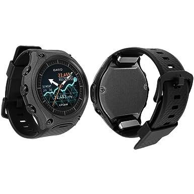 Skinomi TechSkin – Casio inteligente al aire libre reloj [WSD-F10] Full Body