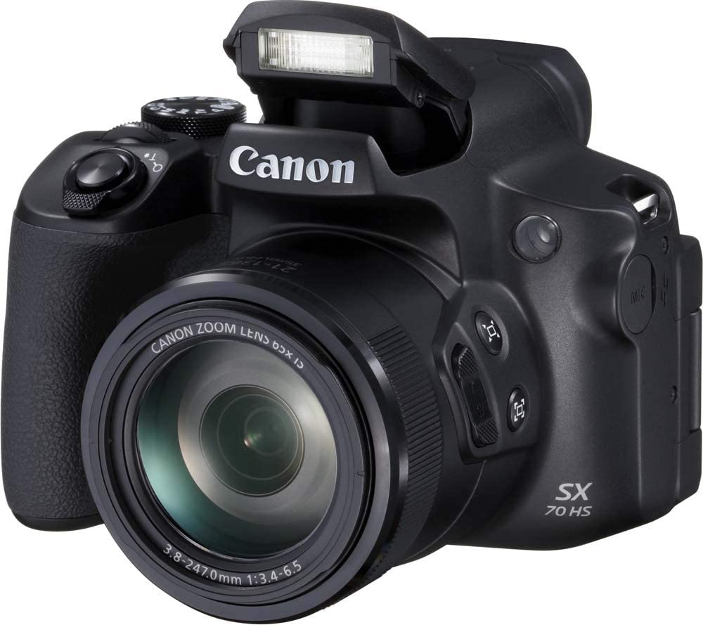 Canon PowerShot SX70 HS - Cámara Bridge de 20.3 MP (Zoom óptico de ...