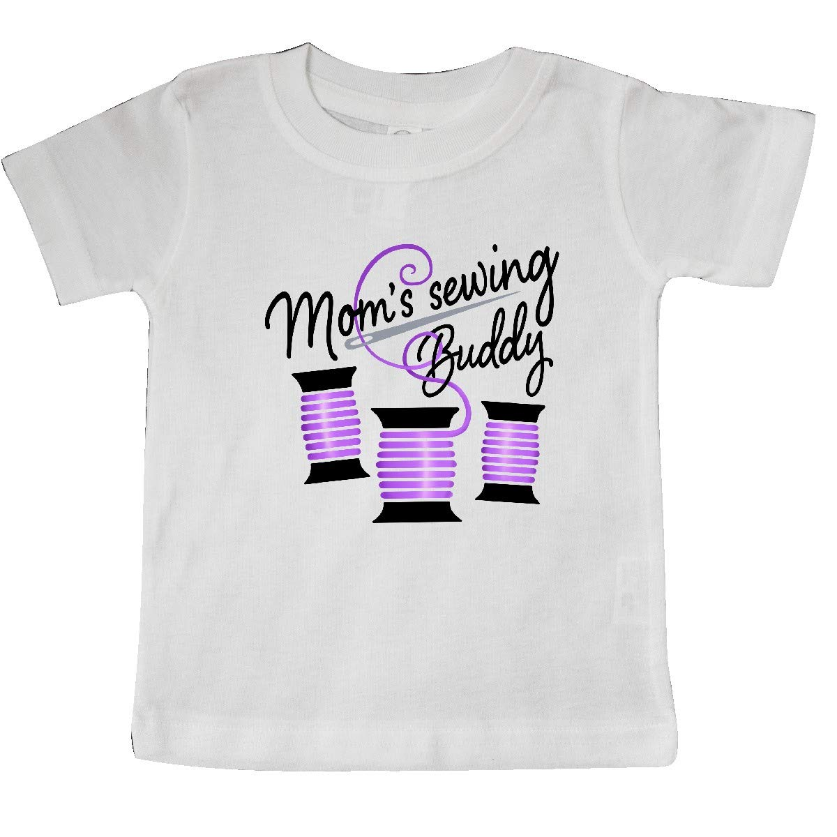 Purple Thread Baby T-Shirt inktastic Moms Sewing Buddy