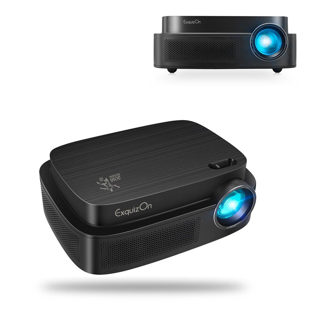Exquizon - proyector LCD LED: Amazon.es: Electrónica