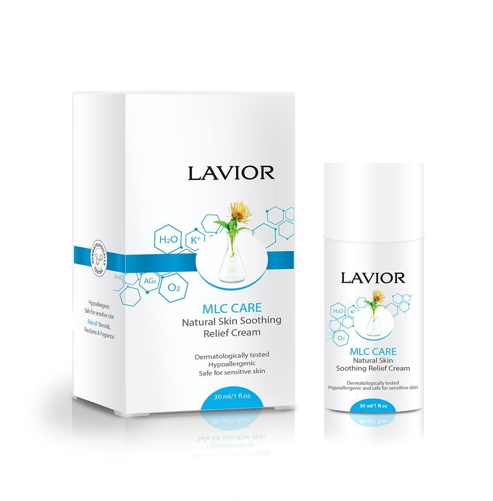 LAVIOR MLC Care Natural Molluscum, Shingles, Rashes Relief Cream - Antiviral - Clinically Proven, Dermatologist & Pediatrician Recommended