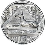 2 oz Elemetal Egyptian God Series Anubis High
