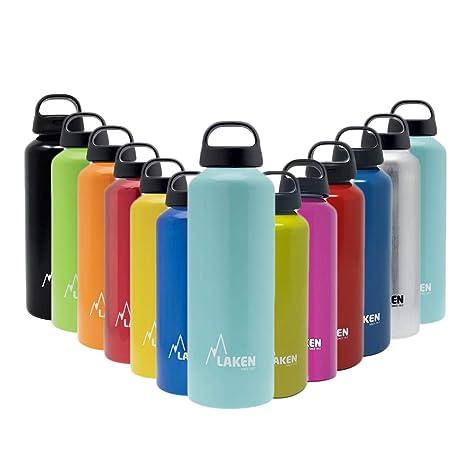 Laken Aluminium Hellblau 0,75Liter, frei Unisex-Adultos Classic Azul Claro BPA Libre Botella de Aluminio 0,75 litros PBA