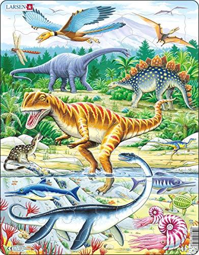 Larsen Puzzles Dinosaur Children