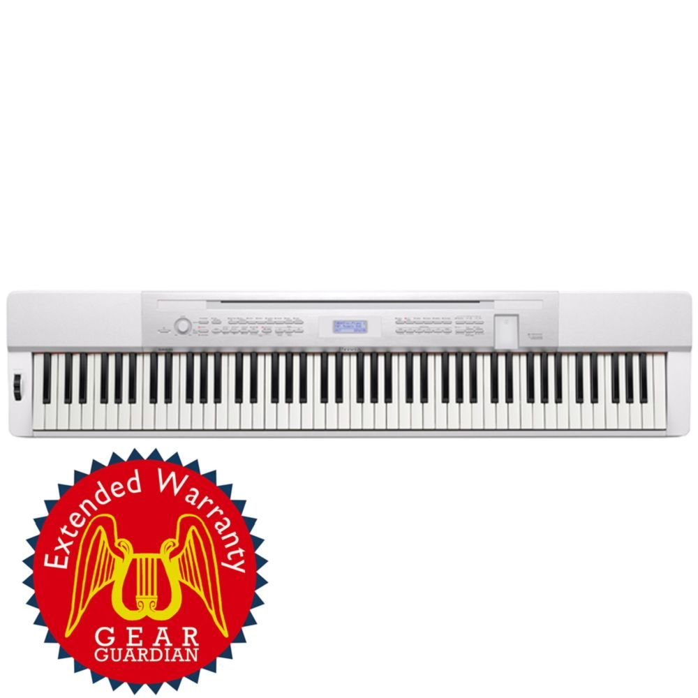 Casio Privia PX-350 88-Key Digital Piano - White