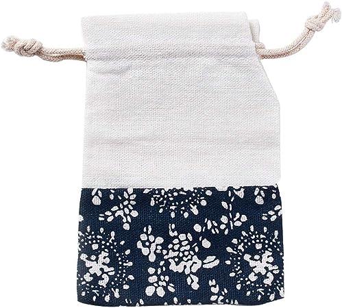 NBEADS Bolsa de Algodon, 50 Pc Sacos de Tela Pequeños Bolsitas para Embalaje de Artesanías de Joyería, Azul de Prusia, 12X9.8 Cm: Amazon.es: Hogar