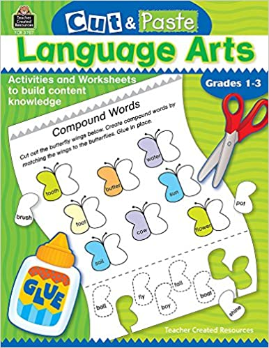 Counting Number worksheets kindergarten cut and paste worksheets free : Amazon.com: Cut and Paste: Language Arts (Cut & Paste ...