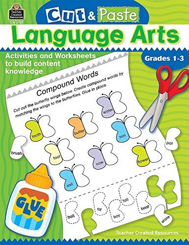 Cut and Paste: Language Arts (Cut & Paste)