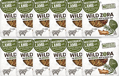 Mediterranean Lamb - Meat and Veggie Bars (12-pack) are the perfect AIP snack. They contain no nightshades and are grain-free, dairy-free and Paleo Certified. They contain no tree nuts or - Bars Natural Be Nut