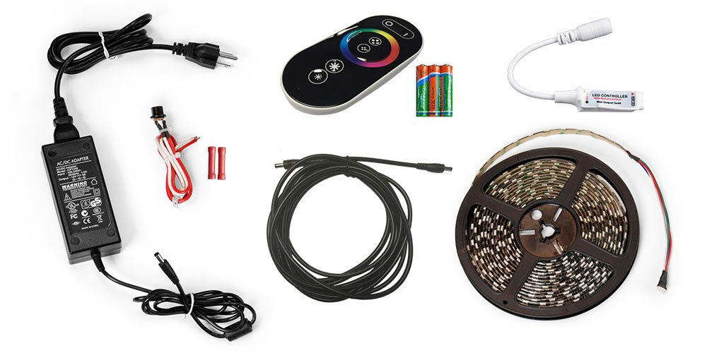 Carefree SR0112 15 Colors Including White Color LED Universal RV Awning Light Kit Pack