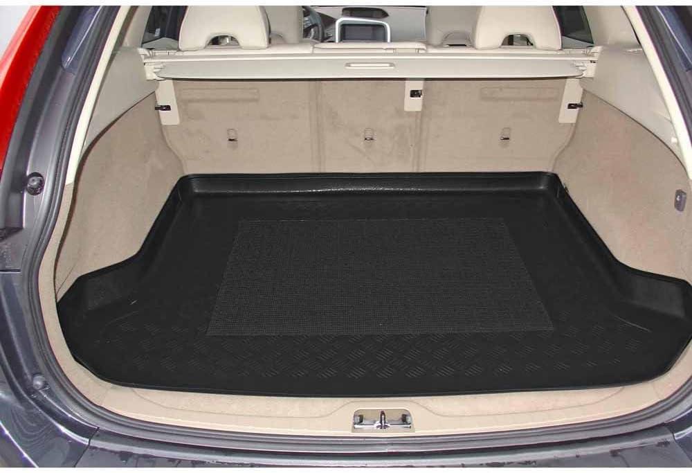 ZentimeX Z903088 Vasca baule su misura con superficie scanalata e integrato tappeto antiscivolo