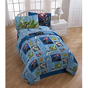 Amazon Com Star Wars Bedding Set 5pc Comforter And Sheets