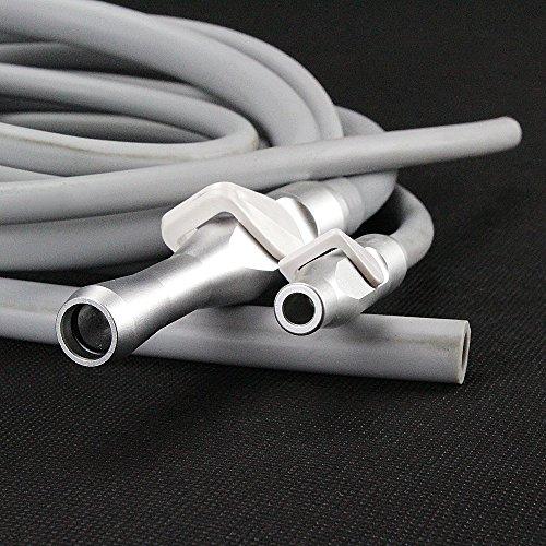 Melleco Dental Saliva Ejector Suction Valves SE/HVE Tip Adaptor + 2 Tubing Hose Tubes (Disconnect Switch Rotary)